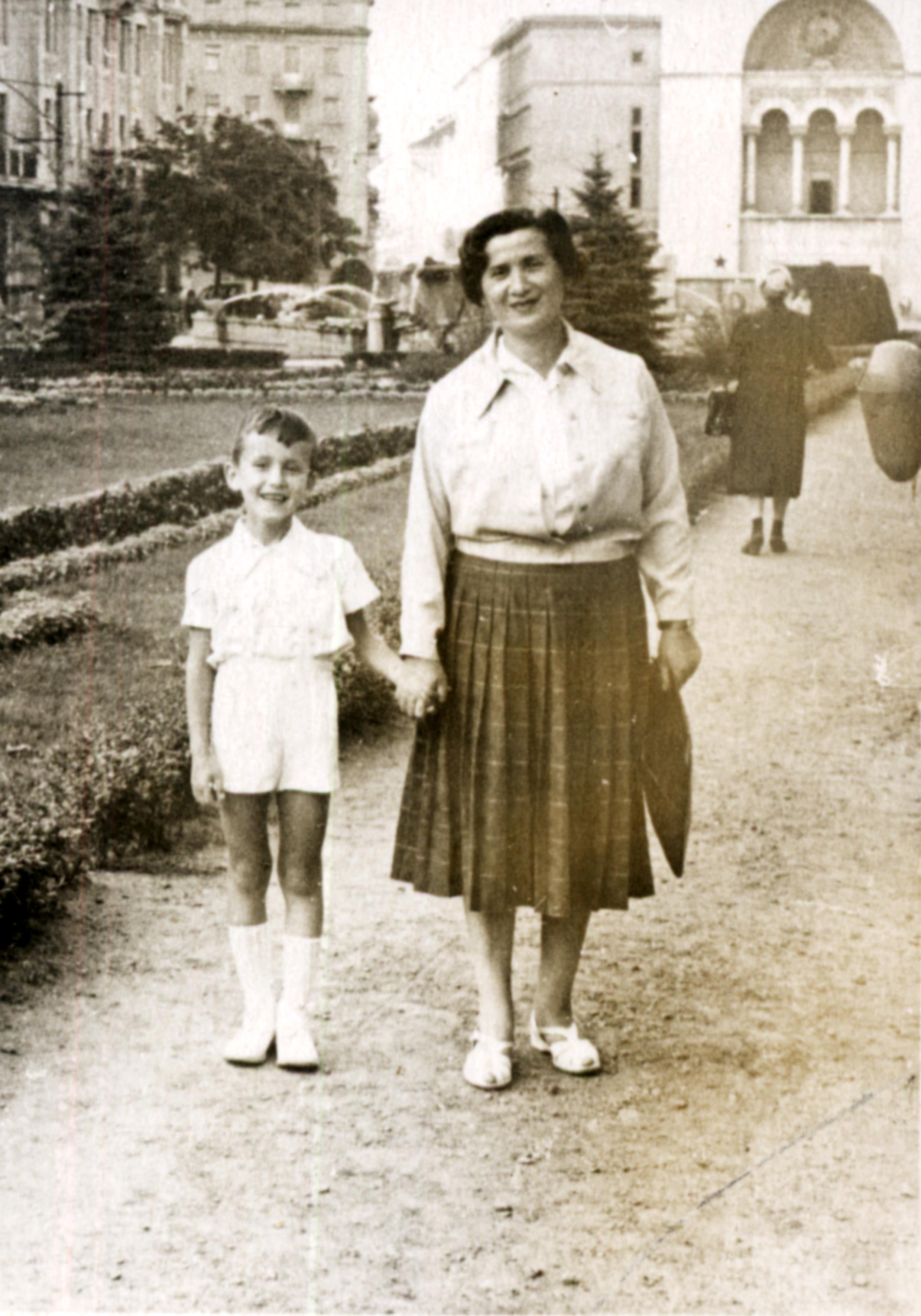 Francisc Illes and Olga Jakobovics