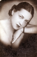 Kati Andai's mother Margit Brichta as a young woman