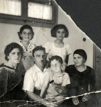 Albert Ilel and his family