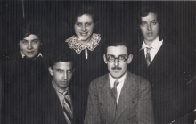 Bina Dekalo and her brother Marco Aroyo with friends
