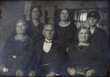 Leon Anzhel with relatives