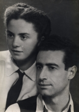 Victor Baruh and his wife Ester Baruh