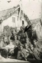 Second national brigade on the Pernik-Voluyak path