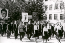 1st May demonstration