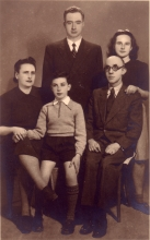 Mico Alvo and the family of his uncle Daniel Alvo