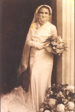 Victoria Molho on her wedding day