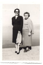 Renee Molho with her sister-in-law Victoria Leon