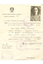 Renee Molho's Certificate of Nationality