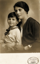Gabor Paneth and his mother Margit Paneth