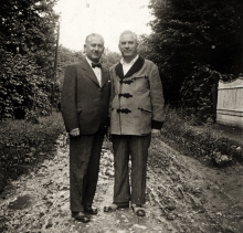 Gabor Paneth's father Lajos Paneth and uncle Jeno Paneth
