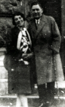 Gabor Paneth's parents Lajos and Margit Paneth shortly after their wedding