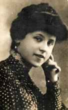 Gabor Paneth's father's first wife Margit Paneth