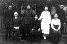 Ester Kleinstein and her family