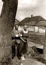 Lilli Tauber's parents Wilhelm und Johanna Schischa in Opole ghetto