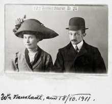 Lilli Tauber's parents Johanna and Wilhelm Schischa