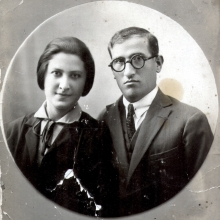 Beila Molchanskaya and Shlomo Molchanskiy