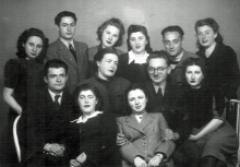 Sarra Shpitalnik with her collegues from Chernovtsy University