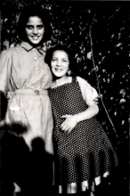 Margo Lovith with her sister Evi