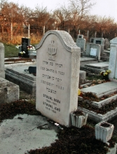 In the Jewish cemetery in Targu Mures