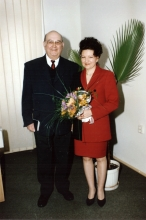 Manin Rudich and his wife Dorina Rudich