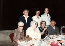 Emanuel Gruber with relatives