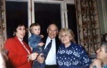 Miron Manilov and his family