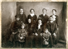 Serafima Staroselskaya's  family: Sima and Borukh Vigdergaus and other relatives