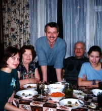 Vladimir Tarskiy with his family