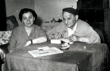 Peter Reisz's parents Imre and Olga Reisz