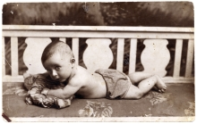 Boris Rubenstein as baby