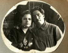 Marina Shoihet's parents Anna and Pinhos Shoihet