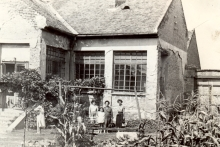 The Fischer family home
