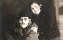 Avram Kalef and Matilda Cerge