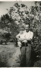 Eli Perahya and his son David
