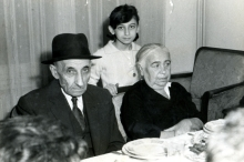 Feride and Ezra Bozo with their niece Rachel Baruh