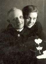 Maria Vulih and her father Lev Vulih