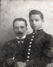 Naum Fabrikant and his son Yefim Fabrikant