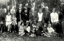 Arkadiy Redko with his family and friends