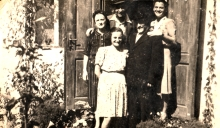 Ernest Galpert and his family