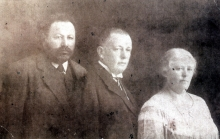 Aunt Sima with her husband and her uncle