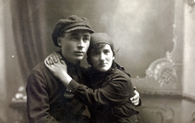 Jemma Grinberg's father Moisey Grinberg and mother Hana Deich
