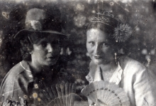 Mark Golub's father's younger sister Riva Petrenko  and her friend