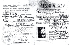 Peter Rabtsevich's identity card
