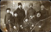 Boris Aizman and his family, including his son Israel Borisovich Aizman