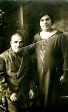 Raissa Yasvoina's mother Maria Lvovich  and her 2nd husband Mikhail Lvovich