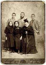 Erzsebet Radvaner's paternal grandparents, the Kleins and their family