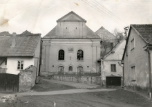 The synagogue in Luze