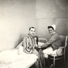 Anna Mrazkova at nursing school