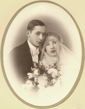 Emil Synek and Marie Synkova's wedding photo