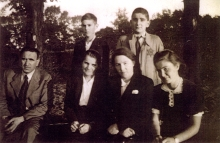 Petr Ginz and relatives